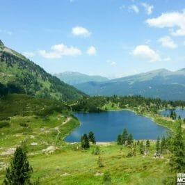 Cima Cavallazza e i Laghi di Colbricon dal Passo Rolle