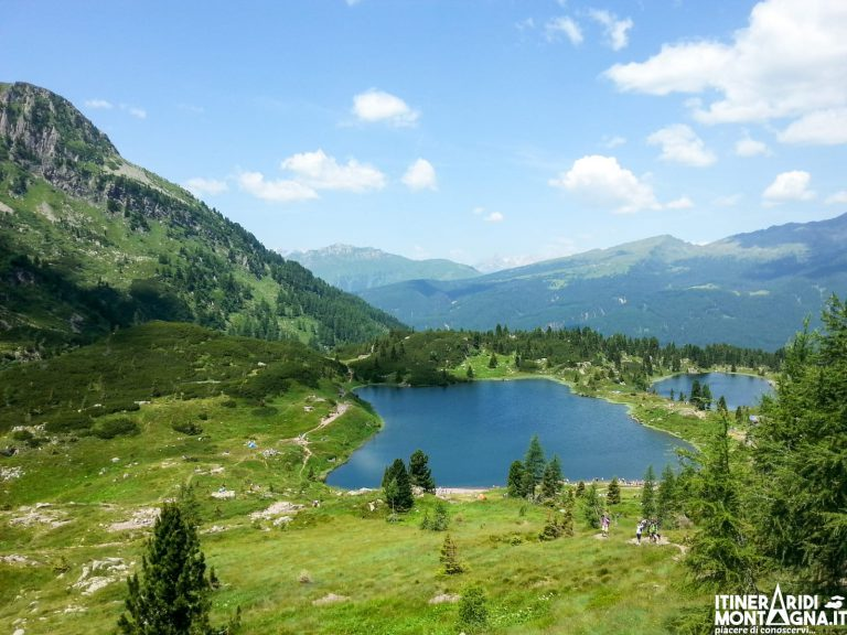 Cima Cavallazza e i Laghi di Colbricon: trekking ad anello