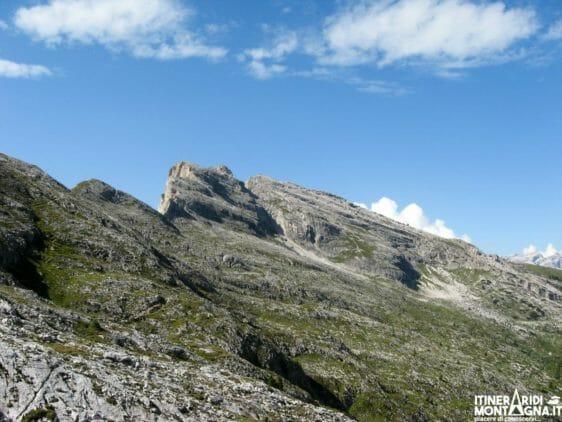 Anello e Cima Settsass dal Passo Valparola
