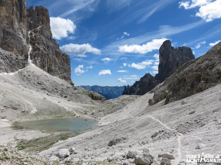 Giro della Pala di San Martino dal Rifugio Rosetta