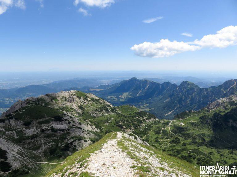 Ferrata Campalani al Monte Carega dal Rifugio Alpino Revolto
