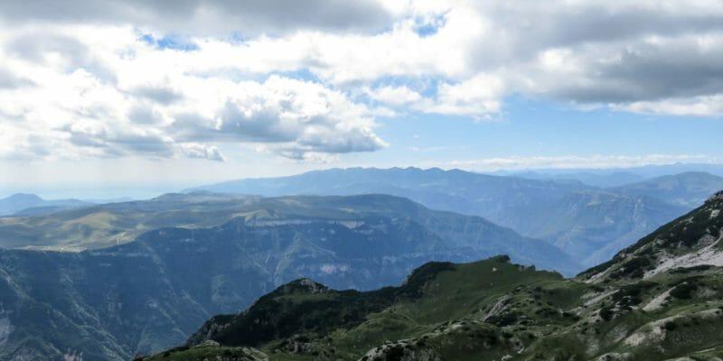 Il massiccio montuoso del Monte Baldo.