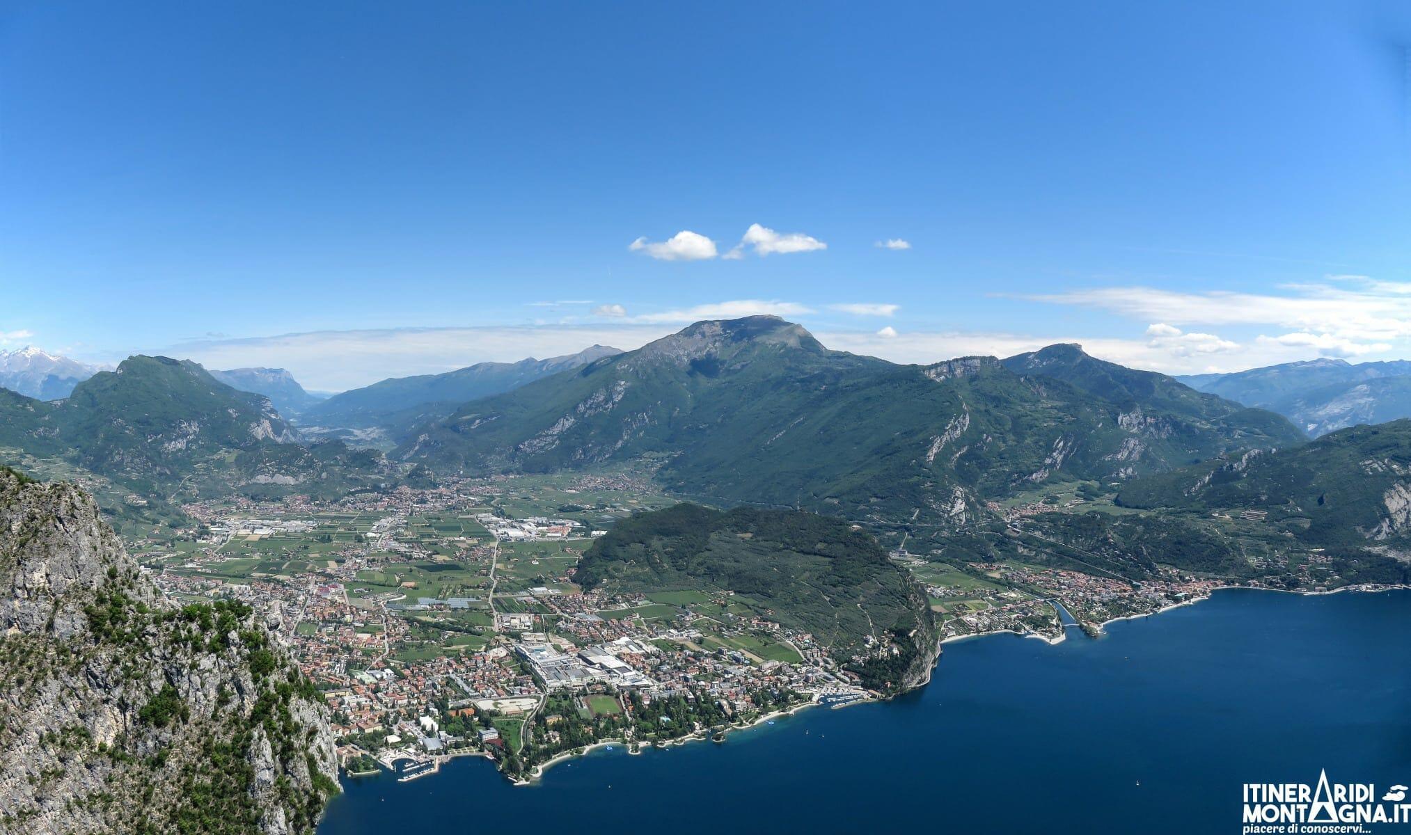 veduta Riva del Garda da Cima Capi