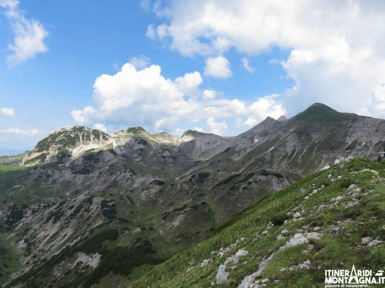 Sentiero attrezzato Pojesi e le cime Tibet e Carega