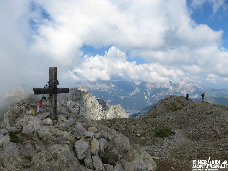 Sentiero Attrezzato Alta Via Bepi Zac sulla Cresta di Costabella