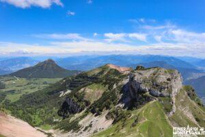 Paesaggio dal Monte Cornetto