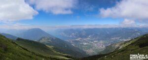 panorama Monte Stivo Rifugio Marchetti