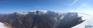 panorama Monte Sparavieri