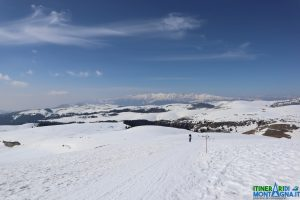 panorama Monte Tomba rifugio Primaneve