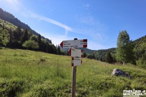 indicazione sentiero 132b