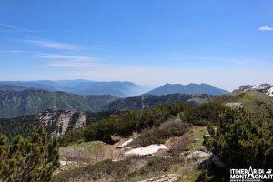 panorama cima Col Santino