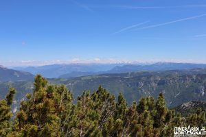 veduta cima Col Santino
