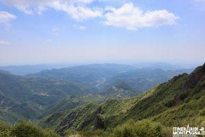veduta Monte Telegrafo Valle del Chiampo