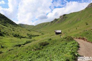 Paesaggio Val de Dona sentiero 577