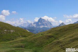 paesaggio sentiero Cima sasso Bianco